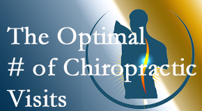 It's up to you and your pain as to how often you see the Auburn chiropractor.