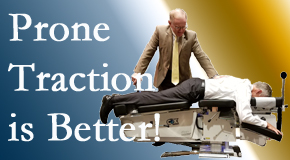Auburn spinal traction applied lying face down – prone – is best according to the latest research. Visit Dr. Le's Chiropractic & Wellness, L.L.C..