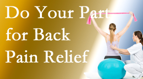 Dr. Le's Chiropractic & Wellness, L.L.C. invites back pain sufferers to participate in their own back pain relief recovery.