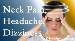 Dr. Le's Chiropractic & Wellness, L.L.C. helps relieve neck pain and dizziness and related neck muscle issues.