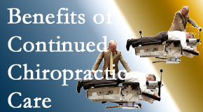 Dr. Le's Chiropractic & Wellness, L.L.C. presents continued chiropractic care (aka maintenance care) as it is research-documented to be effective.