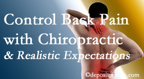 Dr. Le's Chiropractic & Wellness, L.L.C. helps patients set realistic goals and find some control of their back pain and neck pain so it doesn't necessarily control them.