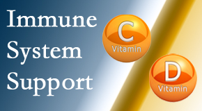 Dr. Le's Chiropractic & Wellness, L.L.C. shares details about the benefits of vitamins C and D for the immune system to fight infection.