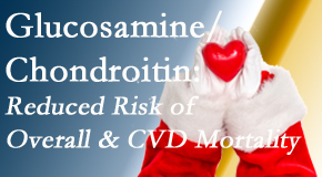 Dr. Le's Chiropractic & Wellness, L.L.C. shares new research supporting the habitual use of chondroitin and glucosamine which is shown to reduce overall and cardiovascular disease mortality.