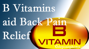 Dr. Le's Chiropractic & Wellness, L.L.C. may include B vitamins in the Auburn chiropractic treatment plan of back pain sufferers.