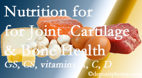 Dr. Le's Chiropractic & Wellness, L.L.C. explains the benefits of vitamins A, C, and D as well as glucosamine and chondroitin sulfate for cartilage, joint and bone health.