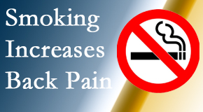 Dr. Le's Chiropractic & Wellness, L.L.C. explains that smoking intensifies the pain experience especially spine pain and headache.