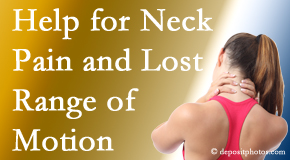 Dr. Le's Chiropractic & Wellness, L.L.C. helps neck pain patients with limited spinal range of motion find relief of pain and restored motion.