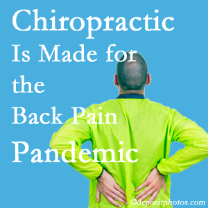 Auburn chiropractic care at Dr. Le's Chiropractic & Wellness, L.L.C. is well-equipped for the pandemic of low back pain.