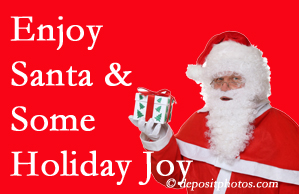 Auburn holiday joy and even fun with Santa are analyzed as to their potential for preventing divorce and increasing happiness.