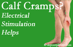 Auburn calf cramps related to back conditions like spinal stenosis and disc herniation find relief with chiropractic care's electrical stimulation.