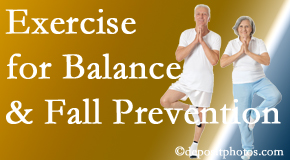 Auburn chiropractic care of balance for fall prevention involves stabilizing and proprioceptive exercise.