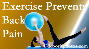 Dr. Le's Chiropractic & Wellness, L.L.C. encourages Auburn back pain prevention with exercise.