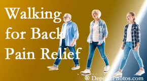 Dr. Le's Chiropractic & Wellness, L.L.C. often recommends walking for Auburn back pain sufferers.