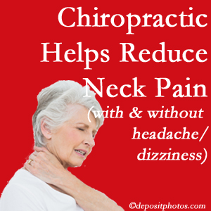 Auburn chiropractic care of neck pain even with headache and dizziness relieves pain at a reduced cost and increased effectiveness.