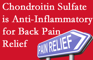 Auburn chiropractic treatment plan at Dr. Le's Chiropractic & Wellness, L.L.C. may well include chondroitin sulfate!