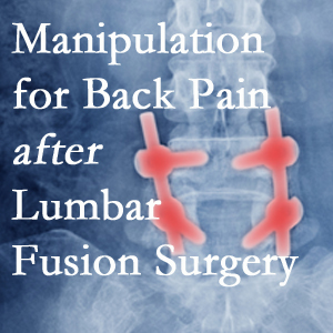 Auburn chiropractic spinal manipulation helps post-surgical continued back pain patients discover relief of their pain despite fusion.