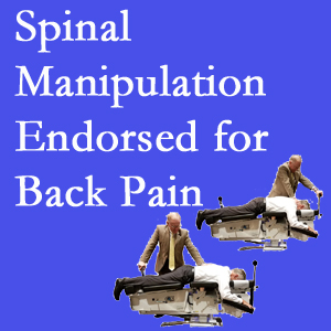 Auburn chiropractic care involves spinal manipulation, an effective,  non-invasive, non-drug approach to low back pain relief.