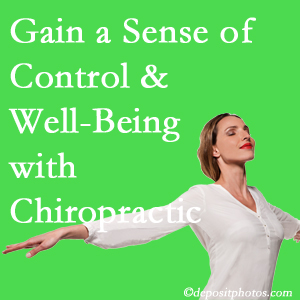 Using Auburn chiropractic care as one complementary health alternative boosted patients sense of well-being and control of their health.