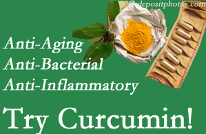 Pain-relieving curcumin may be a good addition to the Auburn chiropractic treatment plan.