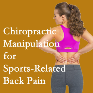 Auburn chiropractic manipulation care for common sports injuries are recommended by members of the American Medical Society for Sports Medicine.
