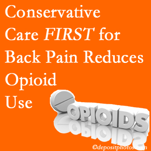 Dr. Le's Chiropractic & Wellness, L.L.C. delivers chiropractic treatment as an option to opioids for back pain relief.