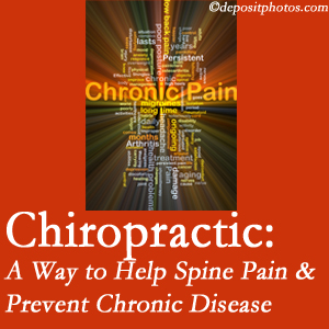 Dr. Le's Chiropractic & Wellness, L.L.C. helps relieve musculoskeletal pain which helps prevent chronic disease.